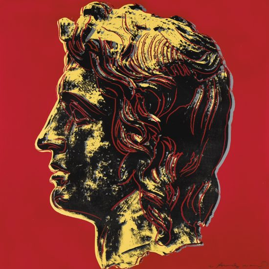 Sotheby's, Andy Warhol, Alexander The Great, 1982.