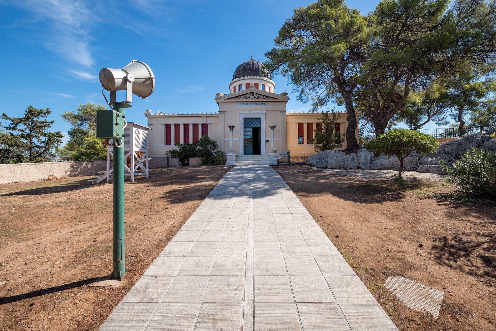 Εθνικό Αστεροσκοπείο Αθηνών | © Πάνος Κοκκινιάς | Courtesy NEON