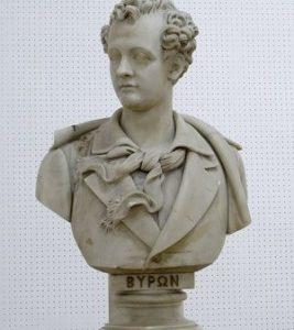 Γεώργιος Βιτάλης, Λόρδος Βύρων, 1888, μάρμαρο