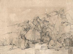 Μελέτη για Πολεμική Σκηνή του Θεόδωρου Βρυζάκη