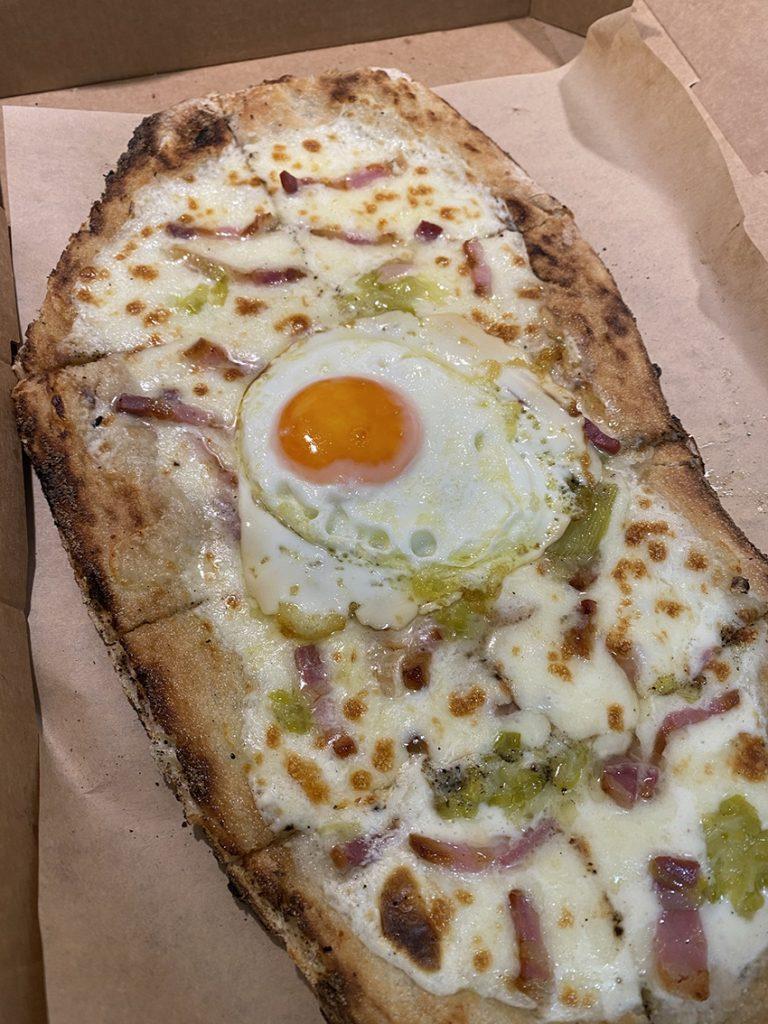 ιταλικό εστιατόριο pizzetti mascarpone με αυγό
