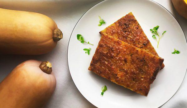 Παραδοσιακή πίτα με κολοκύθα και τυριά