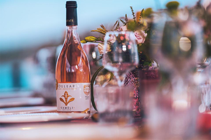 Semeli Delear Κτήμα Σεμέλη Ροζέ Κρασί