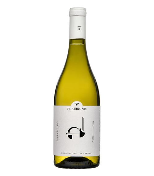 Ασύρτικο Single Vineyard 2019, Οινοποιία Τσικρικώνη