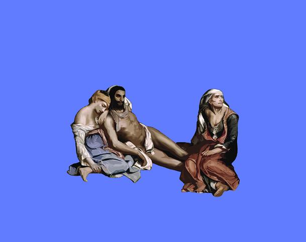 Η Σφαγή της Χίου Eugène Delacroix