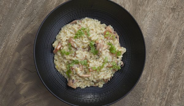 Ριζότο Σουπιάς από τον Chef Λευτέρη Λαζάρου