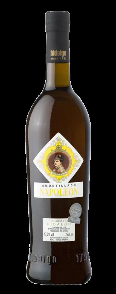 Hidalgo Amontillado Seco, Napoleón