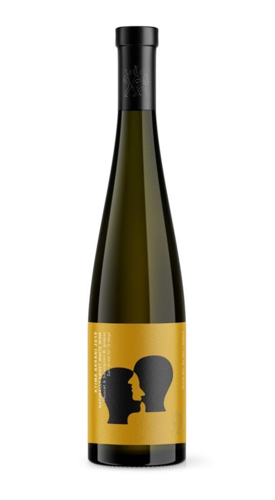 Naturally Sweet White Wine 2019 Κτήμα Ακράνι