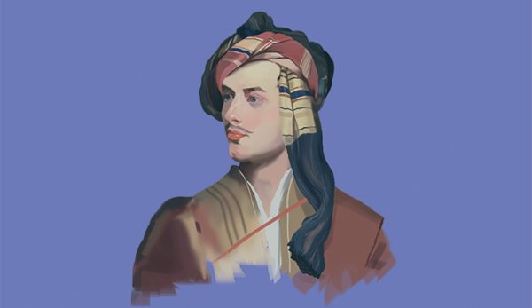 Lord Byron Πορτραίτο Λόρδου Βύρωνα