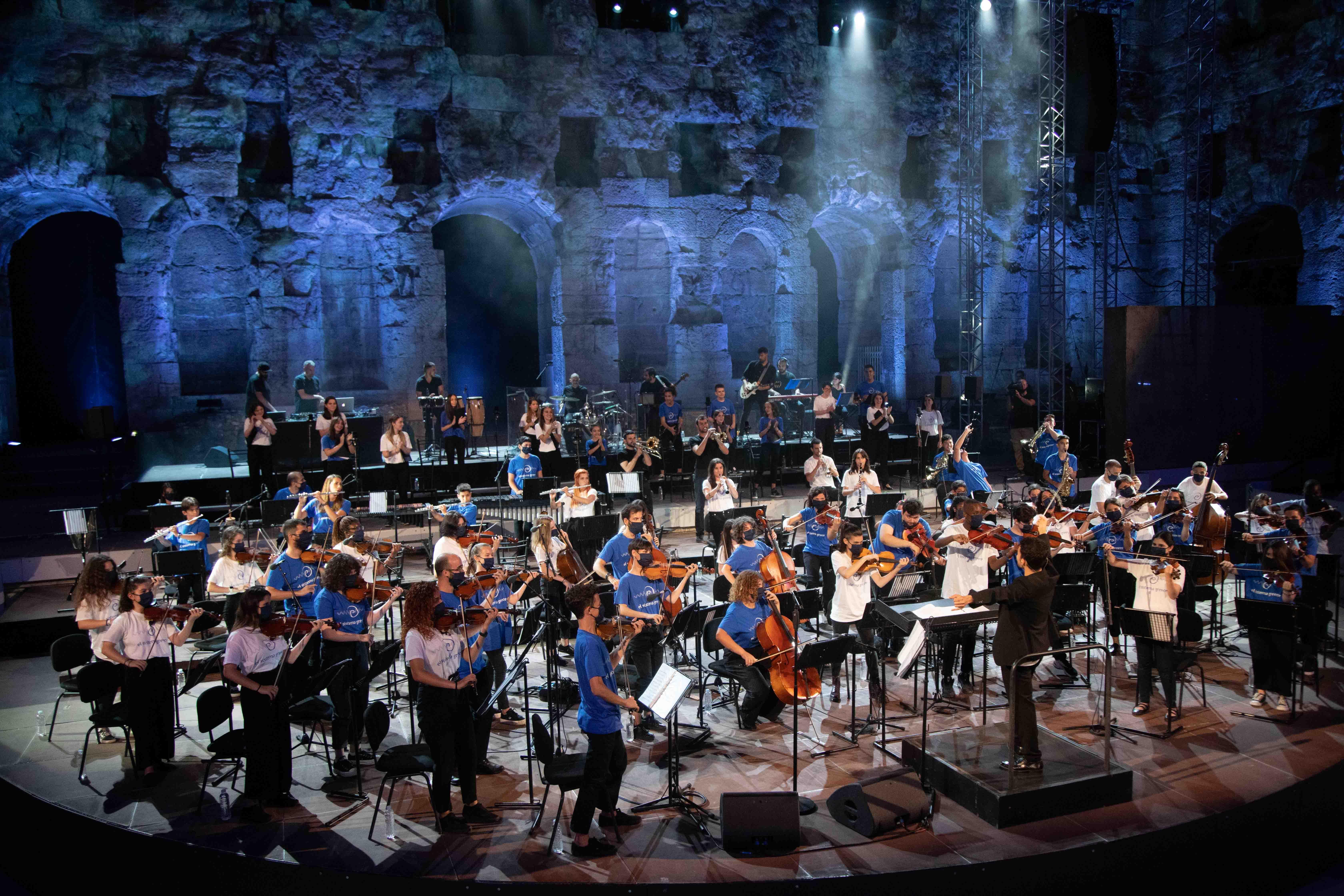 Συναυλία El Sistema στο Ηρώδειο